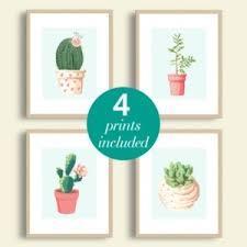 cactus wall art printable