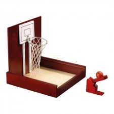 Wooden Basketball Game Mini Basketball Table Game heveawood 100 x 100 x 100 mm 12