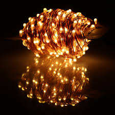 White Cord Led String Lights Us 22 71 29 Off 40m 400 Led Outdoor Christmas Fairy Lights Warm White Copper Wire Led String Lights Starry Light Power Adapter Uk Us Eu Au Plug In