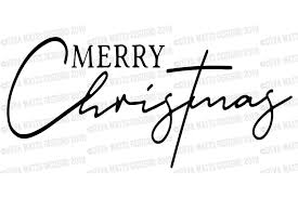 Merry Christmas - Farmhouse Fixer Upper - Cutting File (373688)   SVGs    Design Bundles