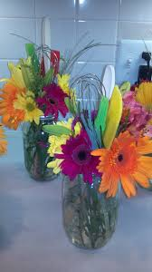 For A Kitchen Cheap Easy And Cute Bridal Shower Centerpieces I Made These For