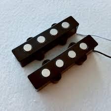 Quality bass parts 1Set 9mm pole piece Ceramic magnet 4 string J ...