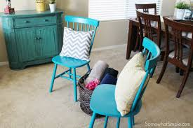 Teal Living Room Chair Versatile Furniture Fashion Puttogether Somewhat Simple