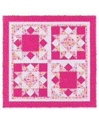 Big Block Quilt Patterns Impressive GO Big Block Quilt Pattern AccuQuilt