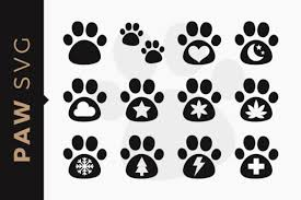 This free svg cut file comes in a single zip file with the following file formats: Pet Paws Dog Clipart Svg Set Graphic By Dtcreativelab Creative Fabrica