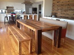 diy kitchen table plans homemade in wooden bench