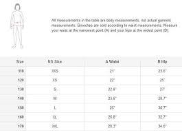 Breeches Size Chart Horze Jr Daniela Silicone Fs Breeches