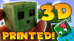 Minecraft Pictures To Print Minecraft Pe In Real Life 3d Print Your Own Skin 3d Printed