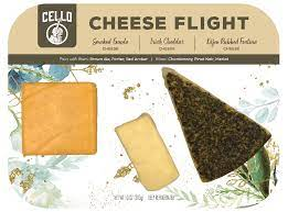 Once formed, a spicy surface rub with cocoa, pepper, coffee, and oil is applied to the surface while aging. Everyday Cheese Flight Cheese Confidently With Cello Cheese