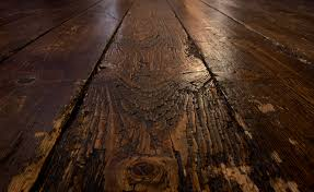old wooden floor with patination