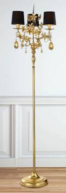 three light black and gold italian floor lamp 91312 find out more at chandelier floor lamp home lighting