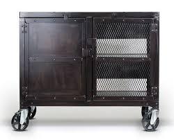 industrial media furniture. Custom Made Small Industrial Media Wine Cabinet, Tv Stand, Liquor Cart Furniture