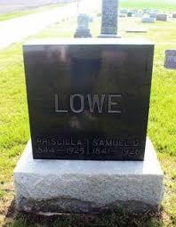 Priscilla Ball Lowe (1844-1925) - Find A Grave Memorial