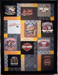 T-shirt Quilt Instructions | Shirt quilts, Craft and Crafty & Harley Davidson T Shirt Quilt One of a Kind Florida by TwoMadFish, $240.00 Adamdwight.com