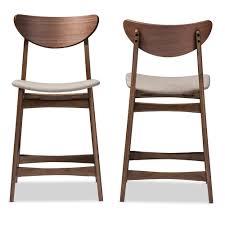 wood counter height stools. Baxton Studio Latina Mid Century Retro Modern Scandinavian Wood Counter Height Stools O