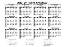 Calendar Year Quarters 2019 Fiscal Year Quarters Template Free Printable Templates