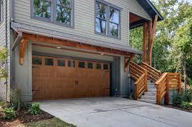 wood double garage door. Garage Design Ideas Gallery Traditional With Double Door Wood Roof Overhang