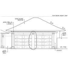 door sizing garage door sizes sc1st double car garage door measurements