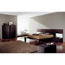 Melamine Bedroom Furniture Simple Customizable Masculine Bedroom Sets Modern King Bed Double