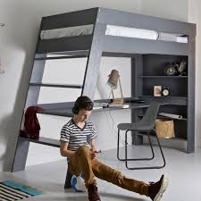 bed modern loft bed with desk