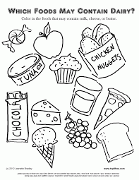 Free, printable coloring pages of food are fun for kids! Healthy Food Coloring Pages For Kids Coloring Home