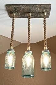 hanging mason jar light multiple mason jar lighting ideas including mason jar triple pendant light with hanging mason jar