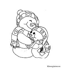 Sneeuwpop Kleurplaat 248101 Kleurplaat