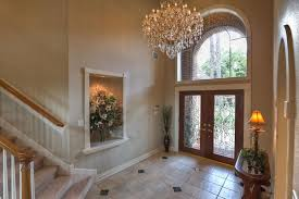 how high to hang a chandelier in a foyer contemporary entryway chandeliers the right height to