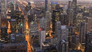 big view photography. 4K UltraHD Aerial Timelapse Of The Chicago City Center - Stock Footage Clip Big View Photography