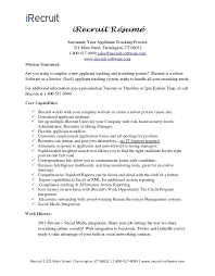 Recruiting Resume Fascinating Monster Resume Builder Getessayz Career Builder Resume Sample Job
