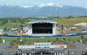 Usana Amphitheatre Salt Lake City Ut Seat View Salt Lake