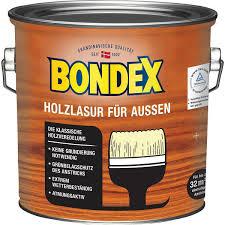 Bondex Holzlasur Für Außen Hellgrau 25 L Bei Baywa Baumarktde