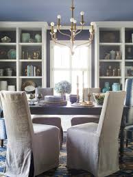Slipcovers Living Room Chairs Spice Up Your Dining Room With Stylish Slipcovers Hgtv