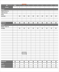 Budget Plan Sample Business 12 Business Budget Templates In Excel Word Pdf Free