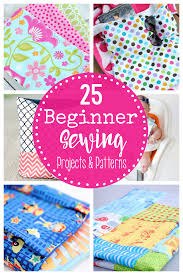 Easy Sewing Patterns For Beginners Beauteous 48 Beginner Sewing Projects