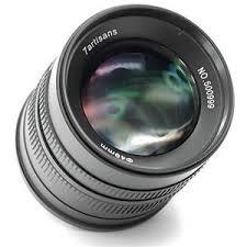 <b>7artisans</b> Photoelectric <b>55mm f/1.4</b> Lens for Canon EF-M Mount ...