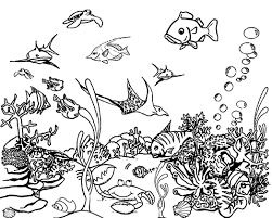 Free printable ocean coloring sheets for kids that you can print out and color. Free Printable Ocean Coloring Pages For Kids
