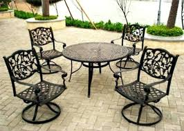 ideas retro patio furniture or metal chairs unique gorgeous iron wrought sets o63