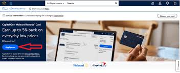 If you select more cash back than is available in your account, your card might. How To Apply For Capital One Walmart Credit Card Online Online Dailys