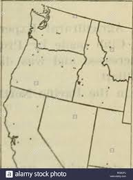 Bulletin of the U.S. Department of Agriculture. Agriculture; Agriculture.  Fig. 70.âOutline map of the western United States, showing the distribution  of Little Club wheat in 1919. Estimated, area, 106,100 acres. It