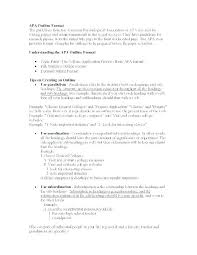 outline templates for research papers