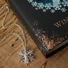 the tiffany aching snowflake necklace the tiffany aching snowflake necklace