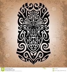 эскиз религиозная маска волшебный символ татуировка иллюстрация