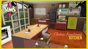 Sims 3 Kitchen The Sims 3 Electric Apartment Kitchen Youtube