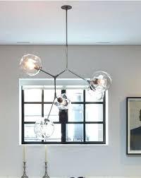 globe branching bubble chandelier modern light lighting included led bulbs free 5 branching bubble chandelier