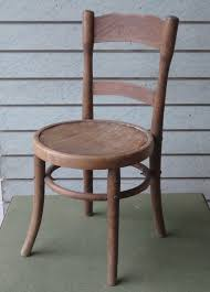 antique vintage childs bentwood chair or dolls chair 1 of 9only 1 available