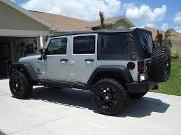 2008 jeep wrangler unlimited 4door 9 400miles gears electric lockers lifted tires wheels