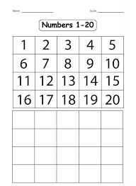 Kindergarten Counting To 100 Worksheets For Kindergarten Picture ...