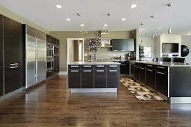 Dark wood floors Living Room Modern Edge Kitchen Design Sautoinfo 20 Gorgeous Examples Of Wood Laminate Flooring For Your Kitchen