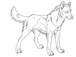 Wolves Coloring Pages Wolf Bestappsforkids Free